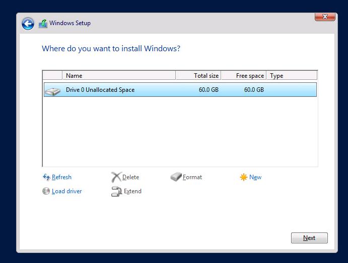 How to install Windows Server