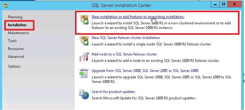 SQL, How to install Microsoft SQL Server 2008 R2 on Windows Server 2012 R2