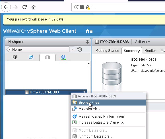 , vSphere Replication: How to Increase Disk Space