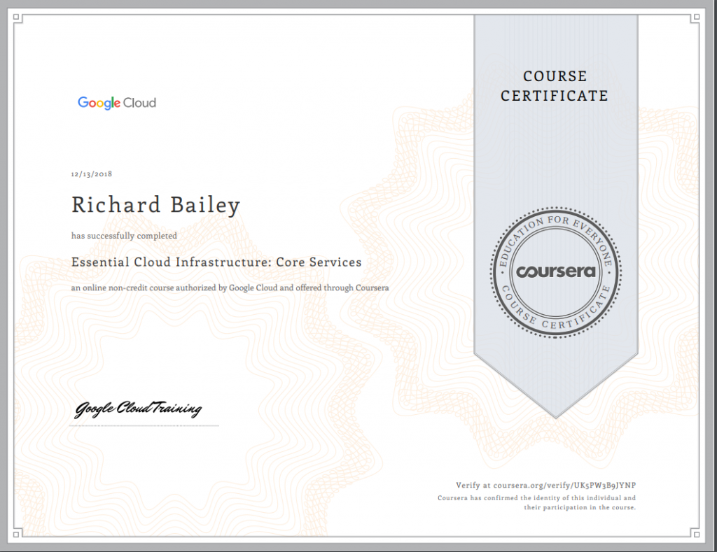 , Google Cloud Platform Certifications