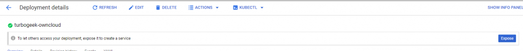 , How to create a Kubernetes clusters on the GCP web console?