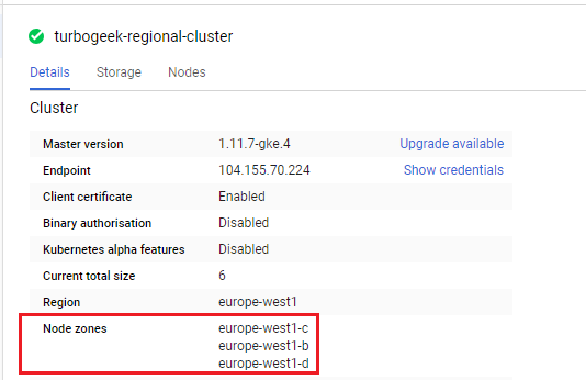 , Create Regional and Zonal K8s Clusters on GCP