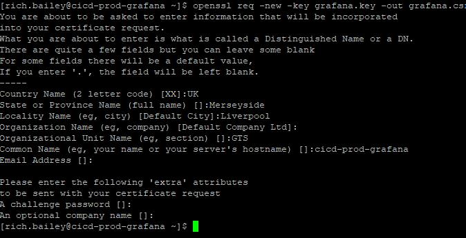 Grafana, Grafana: How to configure SSL HTTPS in Grafana