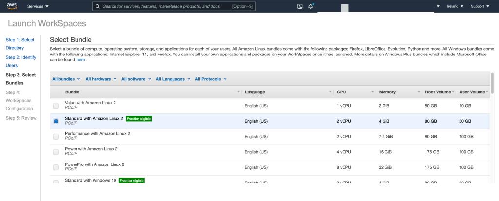 AWS Workspaces, How to build AWS Amazon Workspaces?